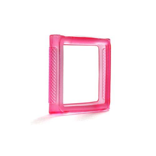 System-S Silicone Bumper Tasche Case Skin Cover Schutz Hülle in Pink für Apple iPod Nano 6 Apple Ipod Nano Skin