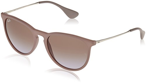 RAYBAN Unisex Sonnenbrille Rb4171 Gestell, Silber, Gläserfarbe: braun-violett verlauf 600068), Medium (Herstellergröße: 54)