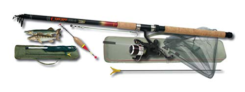 Nick and Ben XXL Set Hecht Zander Angelrute Set 270 cm Massive Rute WG 70g Angler-Ausrüstung