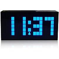 CHKOSDA Grande Numero Digital Display a LED di allarme Desk Clock , 4