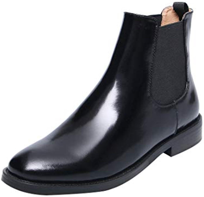 MAYPIE Donna Toanniv Leather Scivolare su Tacco a Blocco Stivali Stivali Stivali   Nuovo Arrivo    Sig/Sig Ra Scarpa  5e376b
