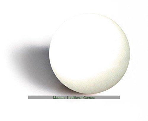 Set von 10 White Tischfußball Kugeln (33mm Durchmesser) zu und anderen Garlando Fußballtische passen