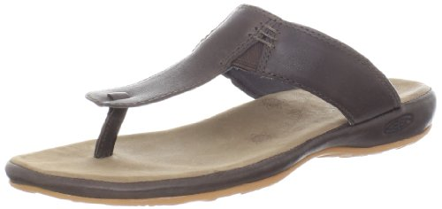Keen Damen Sandale Emerald City Thong II 38 Slate Black