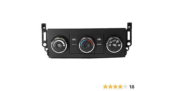 Acdelco 15 74002 Gm Original Equipment Heizung Und Klimaanlage Bedienfeld Mit Beheiztem Spiegelschalter Audio Hifi