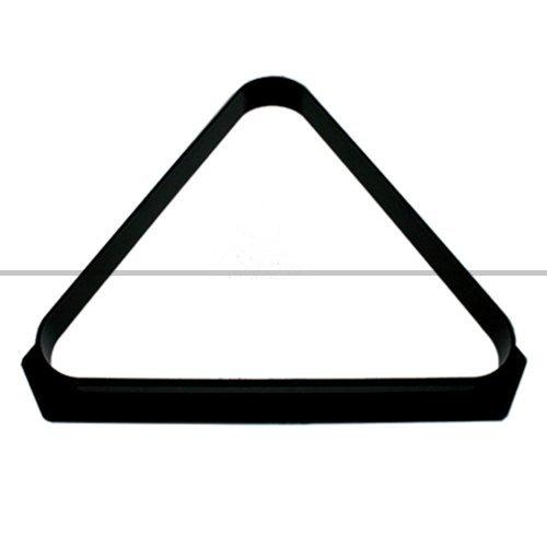 ClubKing Ltd Billarddreieck, aus Kunststoff, für 15 51-mm-Kugeln, Schwarz