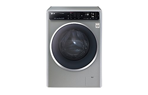 LG F14U1JBS6 freestanding Front-load 10kg 1400RPM A+++-40% Grey washing machine - washing machines (Freestanding, Front-load, Grey, Left, LED, 120°)