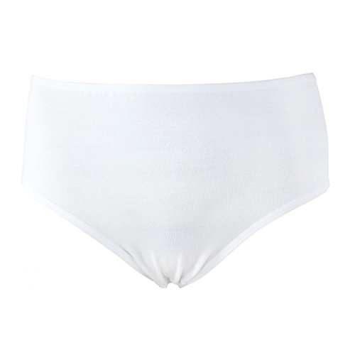 Alkato Damen Taillenslip Baumwolle 5er Pack Farbenmix