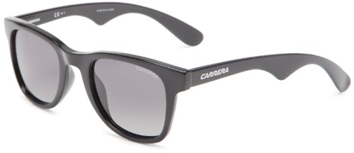 Carrera 6000 WJ D28 Gafas de sol, Negro (Shiny Black/Grey Shaded), 50 Unisex-Adulto