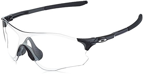 Oakley Unisex-Erwachsene Evzero Path OO9308 Sonnenbrille, Schwarz (Negro Brillo), 0