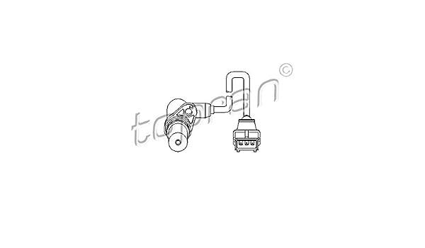 Topran Capteur de vitesse pour moteur Gestion 205/680