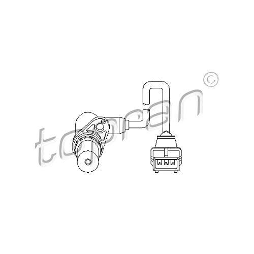 Topran Capteur de vitesse pour moteur Gestion, 205 680