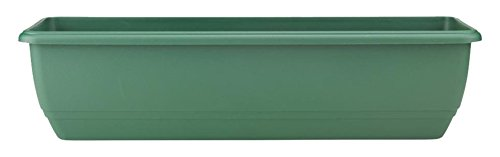 Stewart Balconniere Trough, 70 cm - Green