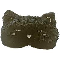 Spaufu süße Plüsch-Schlafmaske mit Cartoon-Katzenform, Augenmaske, für Erwachsene und Kinder, lindert Müdigkeit... preisvergleich bei billige-tabletten.eu