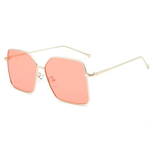 Big Box Mit Der Gleichen Sonnenbrille Wild Metal Flat Mirror Net Rote Sonnenbrille Persönlichkeit Männer Und Frauen Quadratische Brille