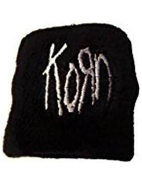Grano–Logo (banda de sudor, Negro) grano pulsera