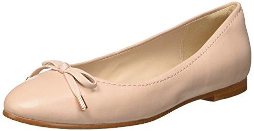 Clarks Women's Grace Lily Ballet Flats, Beige (Nude Pink Lea), 5 UK