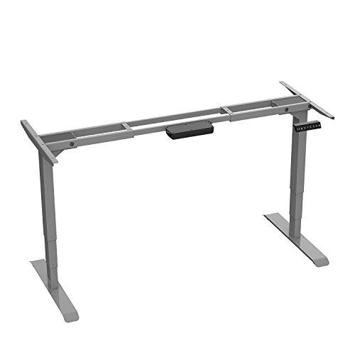 AIMEZO Höhenverstellbarer Schreibtisch Elektrisch höhenverstellbares Tischgestell, 3-Bühne Hebe...