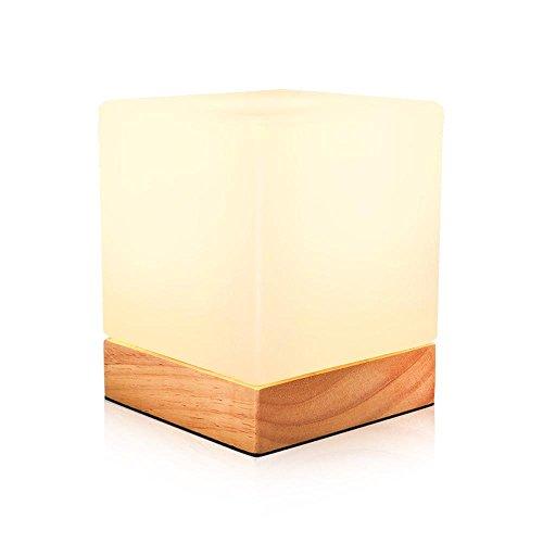 JUNMIN LED E27 tavolo lampada semplice per