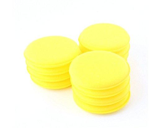 yeah67886-12pcs-car-waxing-cleaning-vehicle-glass-wash-foam-sponge-wax-pad
