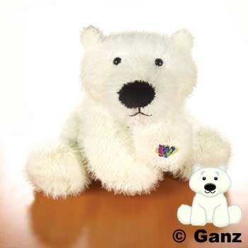 Polar Bear Webkinz (8.5 In.)