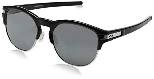 Oakley Herren Latch Key 939406 Sonnenbrille, Schwarz (Polished Black), 55