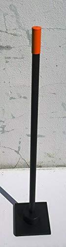 MSB - Werkzeuge Betonstampfer mit Schwingungselement, Handstampfer, Erdstampfer, gerader Griff