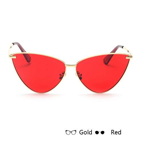 Kjwsbb Women's Sunglasses for Women Metal Frame Flat Lens Sun Glasses Female Eyeglasses