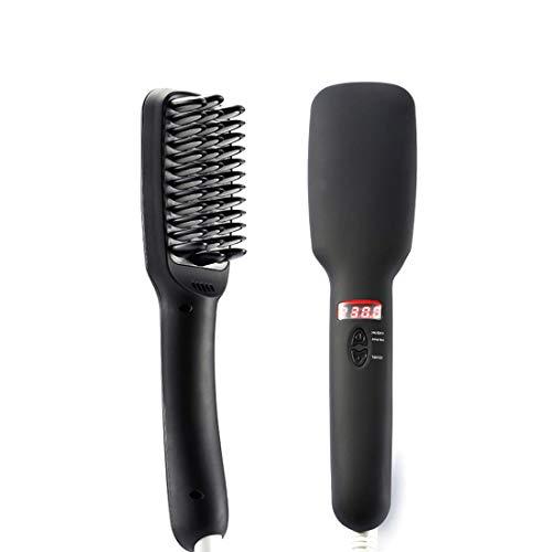 Gerade Haarkamm, Negativ-Ionen-Haarglätter, Heizung glattere, Keramik Begradigung Schiene Haarpflege-Tools,Blackbritishregulations