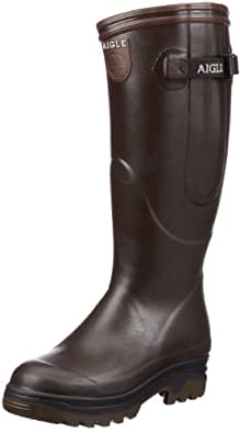 Aigle Unisex Parcours ISO Wellies, Brown, 12 UK