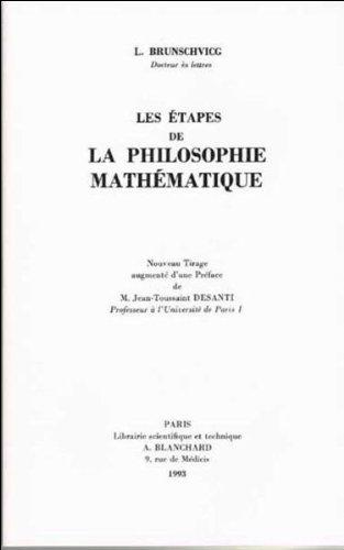 Les étapes de la philosophie mathématique