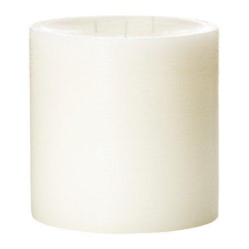 IKEA VILLIG -Duftkerze mit 3 Dochten weiß - 14 cm