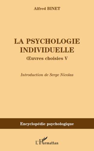 La psychologie individuelle: Œuvres choisies V