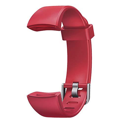 YAMAY Cinturino di Ricambio per SW336 Orologio Fitness (Rosso)