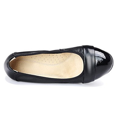 pwne Donna Mocassini &Amp; Slip-Ons Comfort Pu Estate Autunno Casual Tacco Piatto Nero Sotto 1A Black Us8 / Eu39 / Uk6 / Cn39 US7.5 / EU38 / UK5.5 / CN38