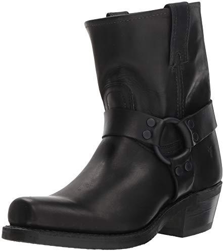 FRYE Women's Harness 8R Mid Calf Boot, Black, 9.5 M US 8r-boot