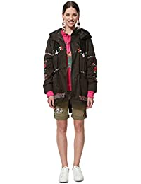 Cappotti Amazon Cappotti Giacche Desigual E it Abbigliamento XqBvqwTxfr