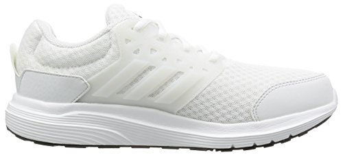 adidas Galaxy 3, Entraînement de course homme Bianco (Running White/Crystal White/Silver Met)