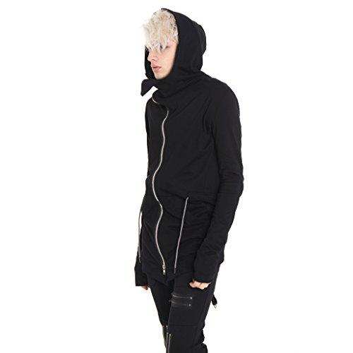 Pizoff Herren Hip Hop High Street Fashion Lang geschnittenes Trägershirt , , Y1572