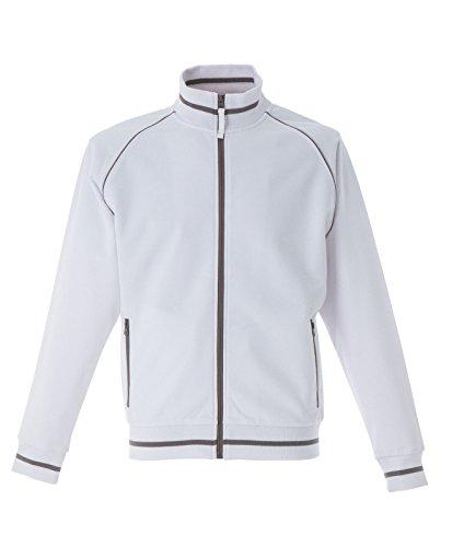 felpa-cotone-polyestere-con-zip-intera-due-tasche-zip-james-ross-oporto-colore-bianco-taglia-3xl