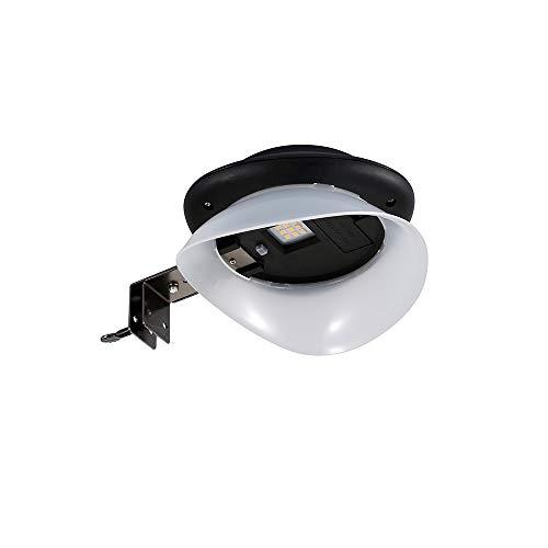 Wandleuchte Solarleuchten Warmes Außenlicht UFO 9 LED IP65 Wasserdicht Auto-On Bei Nacht/Auto-Off Bei Tag, Straßenlaternen Garagenleuchten Abfühlend