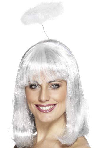 Smiffys Damen Engel Heiligenschein, One Size, Weiß, ()