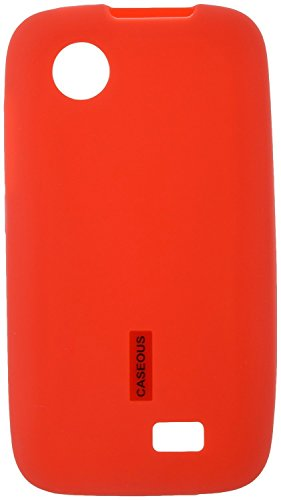 Caseous Matte Finish Soft Back Cover Case For Lenovo A369i (Red)  available at amazon for Rs.249