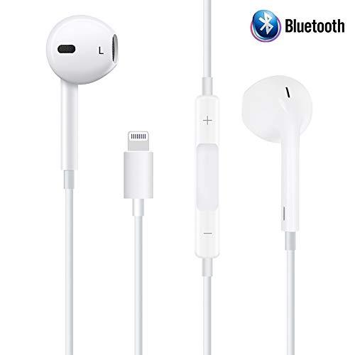 Paopi Auricolari Cuffie con Microfono Stereo per iPhone 7 / 7Plus / 8/8 Plus/X/iPhone XS Max et Autres Smartphones Android