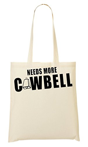 Cowbell Tragetasche Einkaufstasche