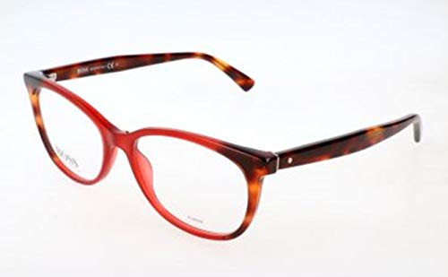 BOSS Hugo Damen Hugo Orange Brille Brillengestelle, Mehrfarbig, 54