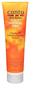 Cantu Shea Butter for Natural Hair Conditioning Co-Wash 10oz (Pack of 3) by Cantu