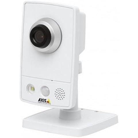 Axis M1054, H.264, 1280 x 800 Pixeles, 30 fps, 84 °, 1/24500 - 1/6 s, CMOS