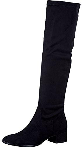 Tamaris Damenschuhe 1-1-25518-29 Damen Stiefel, Boots, Damen Stiefeletten, Herbstschuhe & Winterschuhe für modebewusste Frau schwarz (BLACK), EU 39