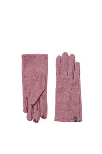 Esprit Accessoires Damen Handschuhe 107EA1R013, Violett (Mauve 550), Small