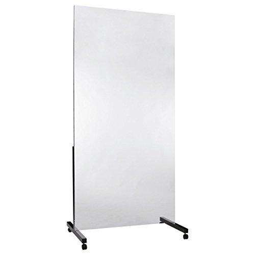 Leichtspiegel Therapiespiegel Standspiegel Physiotherapie 75x200 cm fahrbar